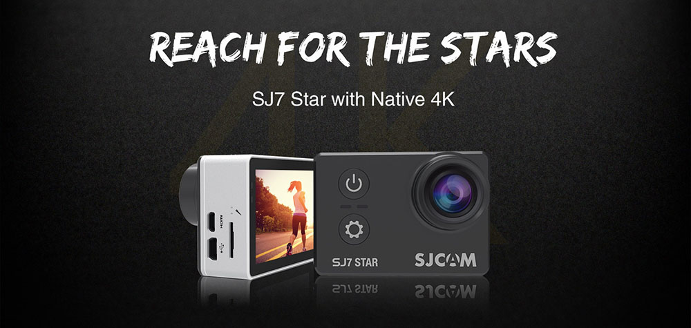 SJ7 STAR 4K WIFI Action Camera
