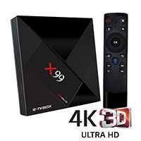 X99 powered by 6Core 4GB 32GB 4K Media player.