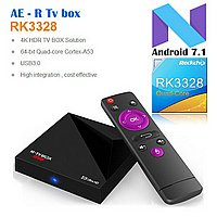 R-TV BOX MINI+ Android 7.1 USB 3.0 4K Media player.
